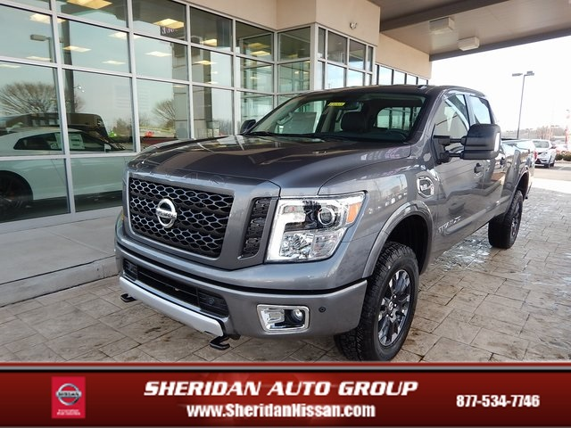 New 2018 Nissan Titan Xd Pro 4x 4d Crew Cab In New Castle