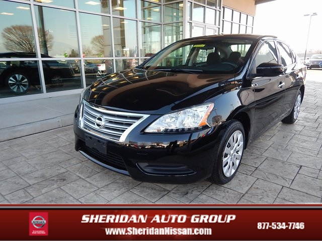 Certified Pre-Owned 2015 Nissan Sentra S