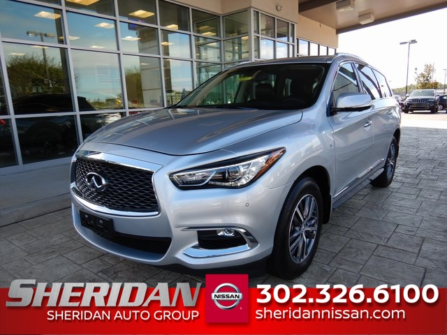 Pre-Owned 2017 INFINITI QX60 Base